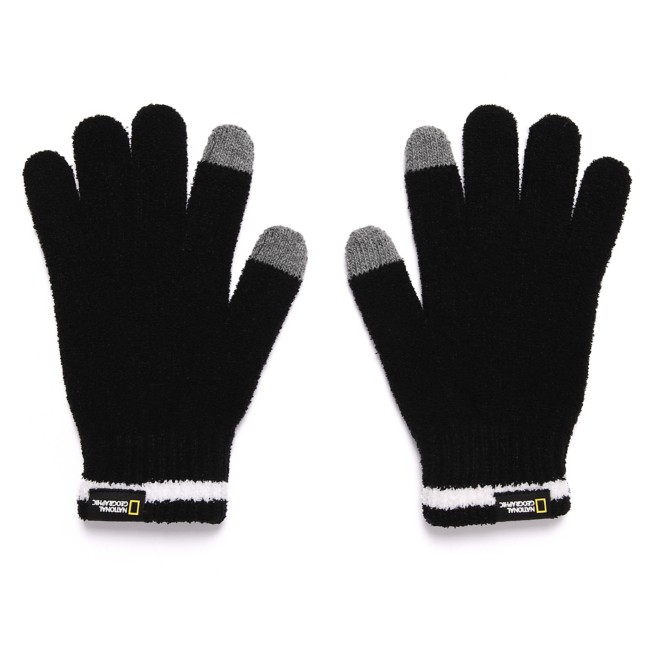 National Geographic Knit Gloves for Adults