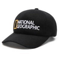 National Geographic Baseball Cap for Adults – Black
