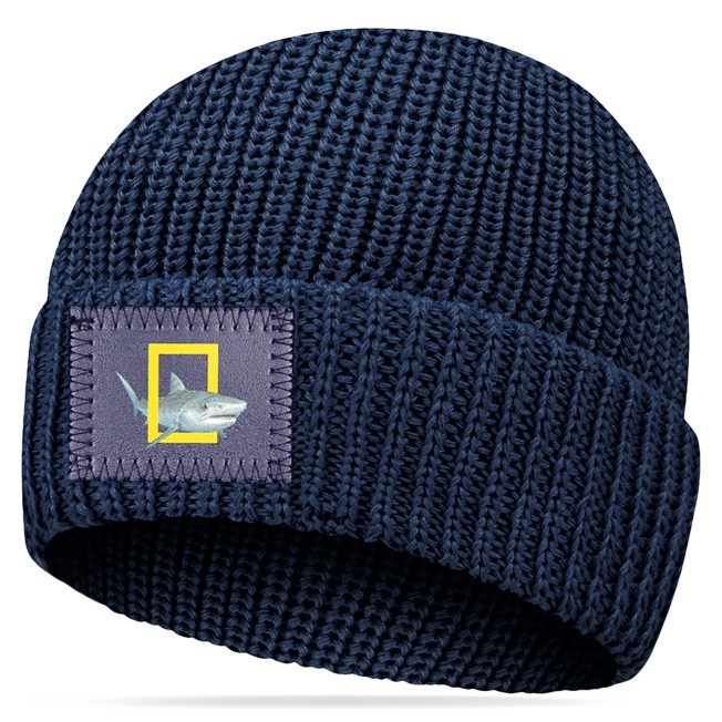 National Geographic Beanie for Adults by Love Your Melon – Navy