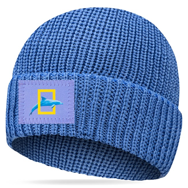 National Geographic Beanie for Adults by Love Your Melon – Light Blue