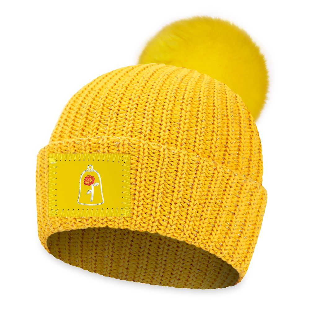 Belle Pom Beanie for Adults by Love Your Melon – Beauty and the Beast