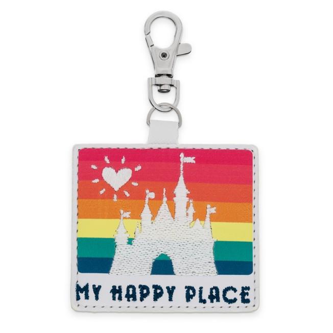Fantasyland Castle Woven Rainbow Bag Charm