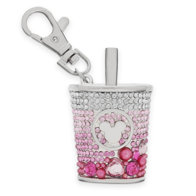 Mickey Mouse Jeweled ''Drink Cup'' Bag Charm