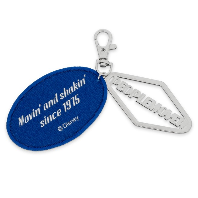 PeopleMover Logo Bag Charm – Walt Disney World