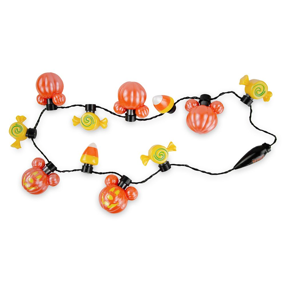 Mickey Mouse Pumpkin Light-Up Necklace