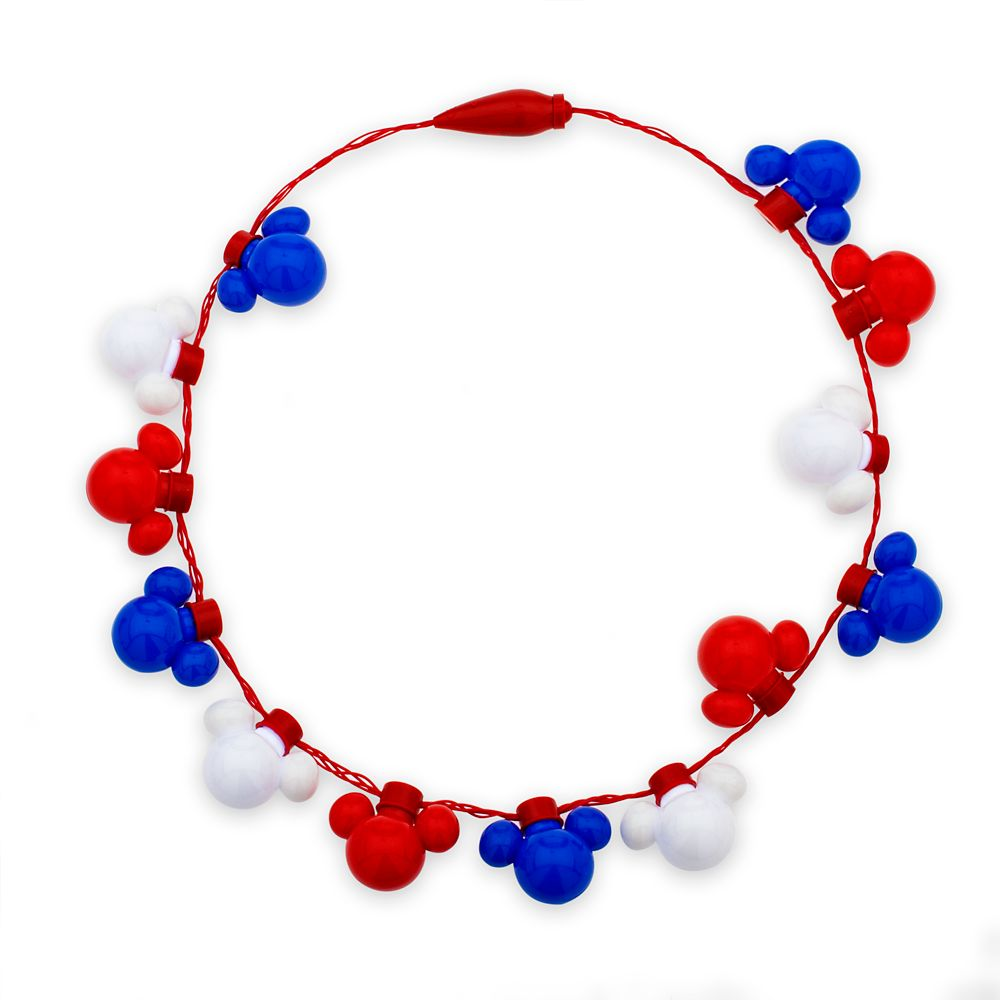 Mickey Mouse Americana Light-Up Necklace