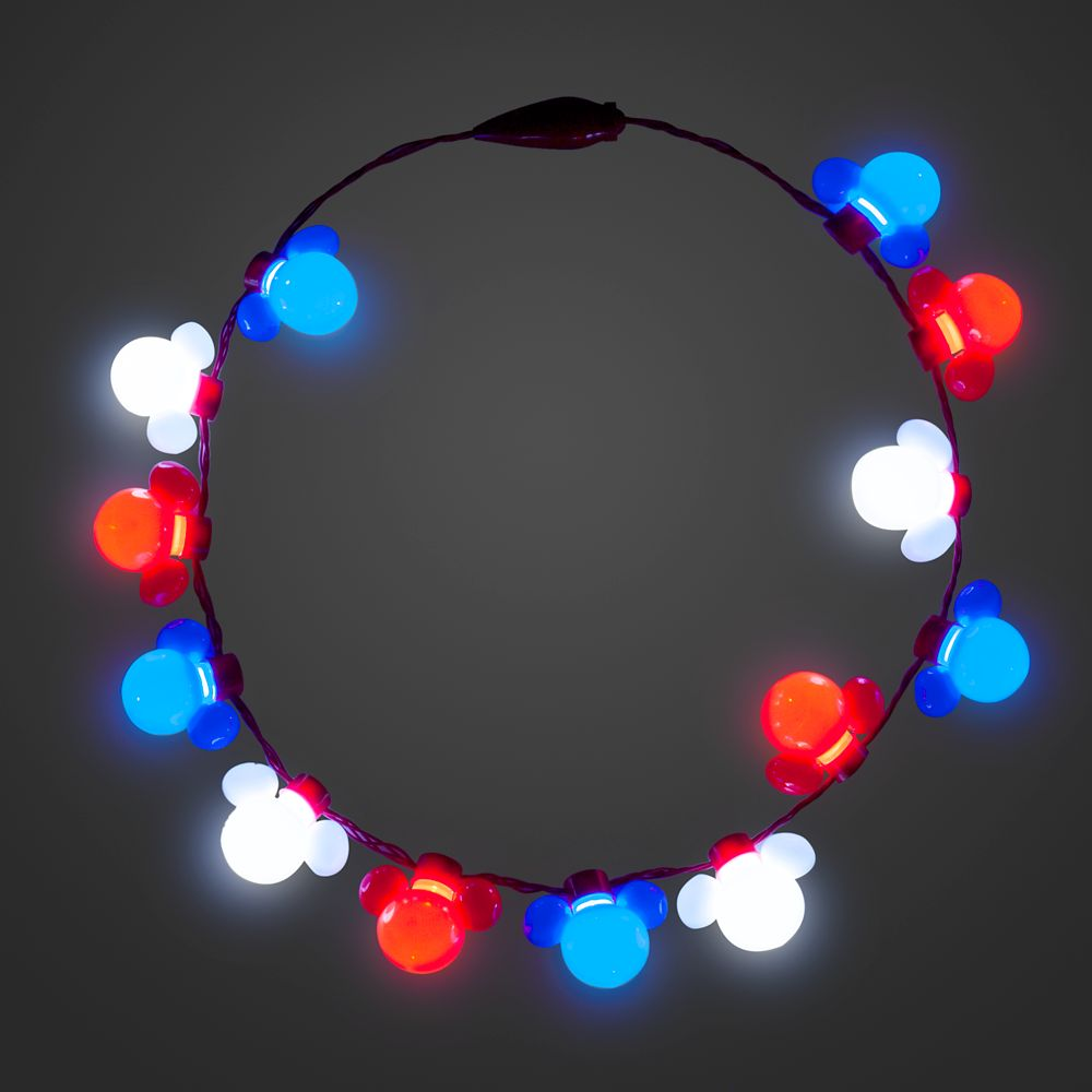 Mickey Mouse Americana Light-Up Necklace