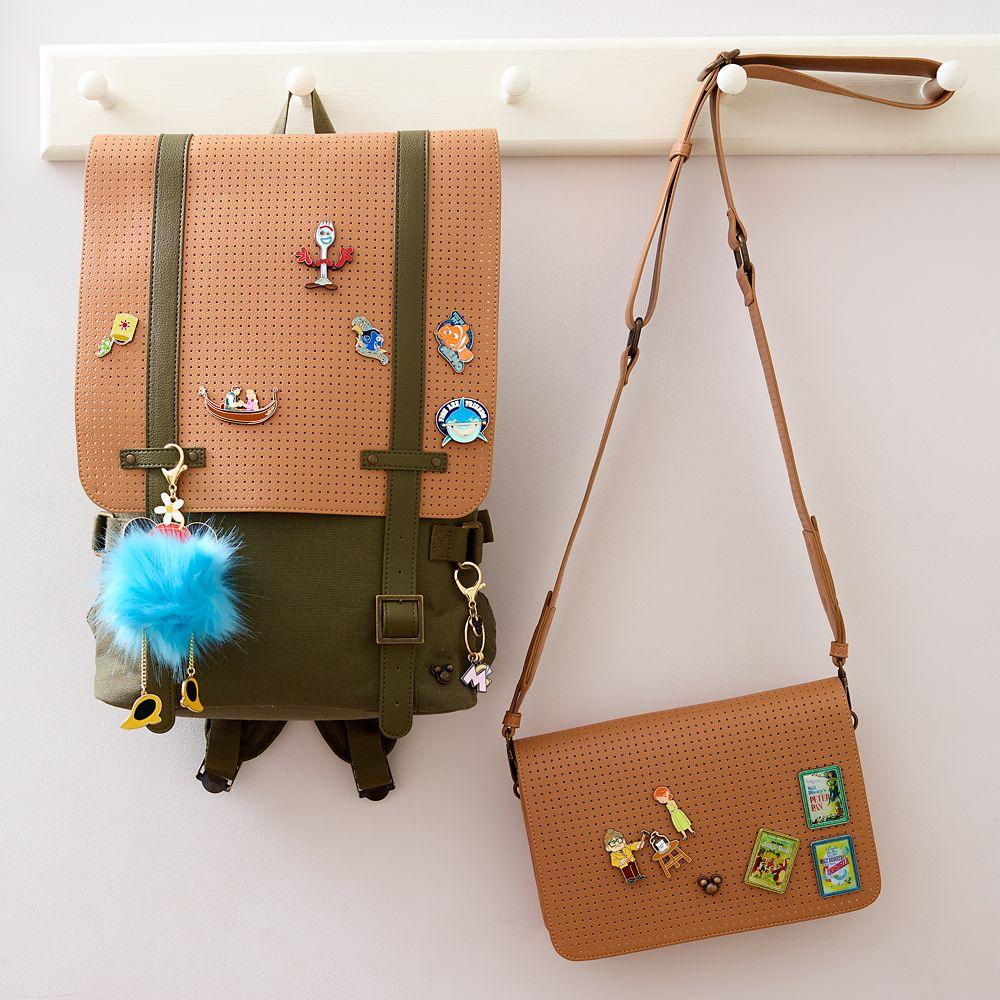 Minnie Mouse Pom Pom Flair Bag Charm