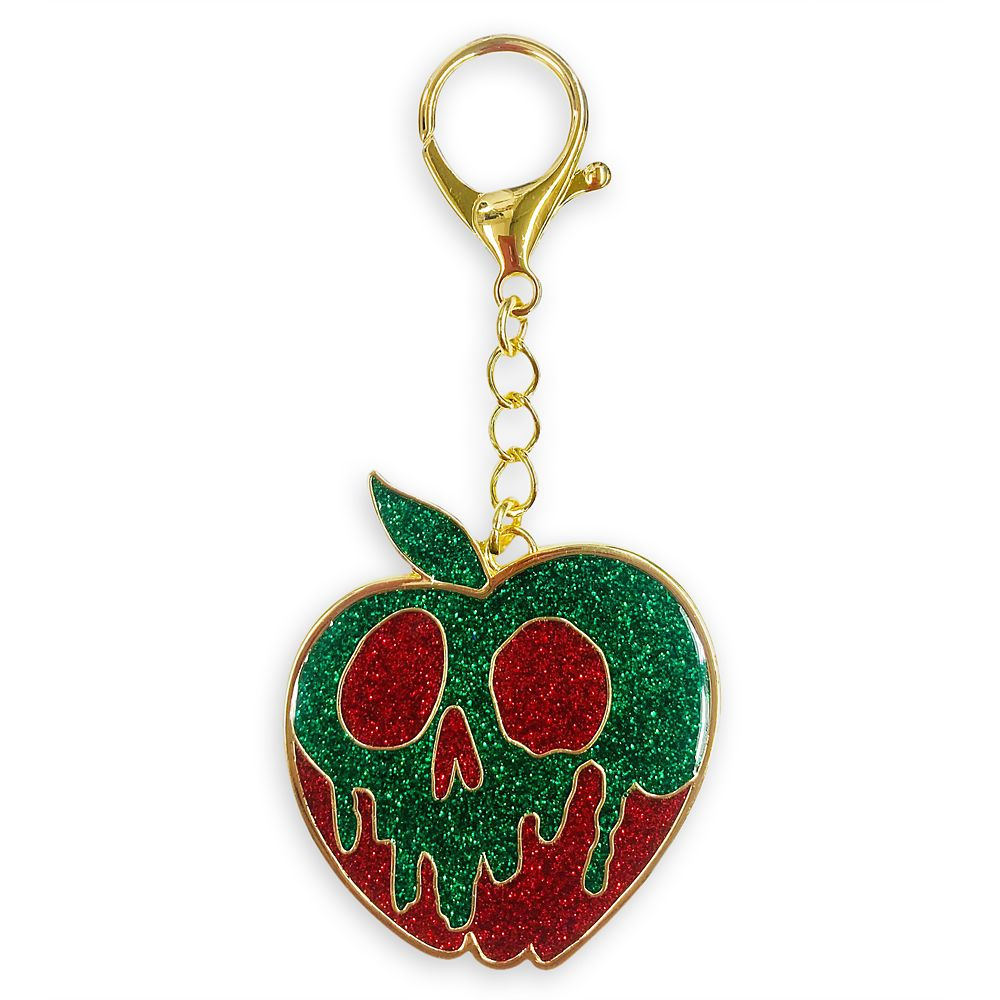shopdisney.com - Poisoned Apple Flair Bag Charm  Snow White and the Seven Dwarfs Official shopDisney 12.99 USD