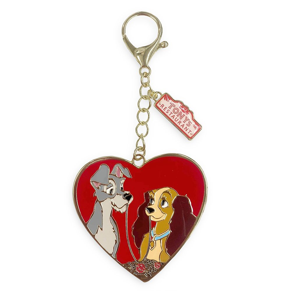 shopdisney.com - Lady and the Tramp Flair Bag Charm Official shopDisney 12.99 USD