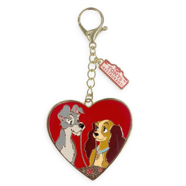 Lady and the Tramp Flair Bag Charm