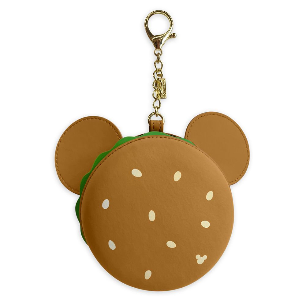 shopdisney.com - Mickey Mouse Icon Hamburger Flair Bag Charm Official shopDisney 16.99 USD