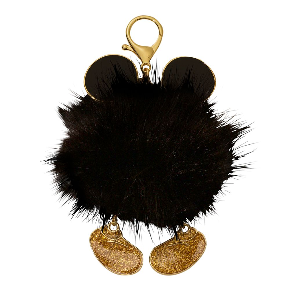 Mickey Mouse Fuzzy Bag Charm