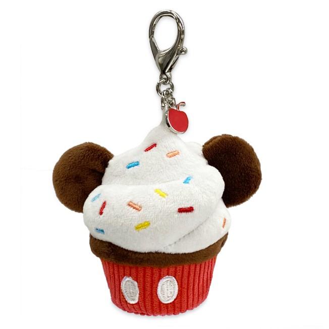 Mickey Mouse Plush Cupcake Flair Bag Charm