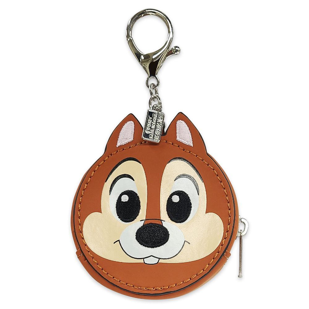 Chip 'n Dale Faux Leather Flair Bag Charm Official shopDisney