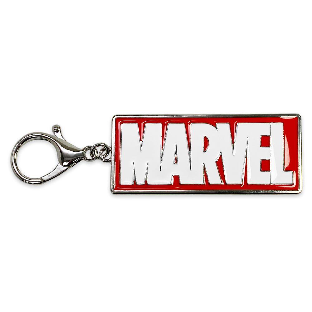 Marvel Logo Flair Bag Charm Official shopDisney
