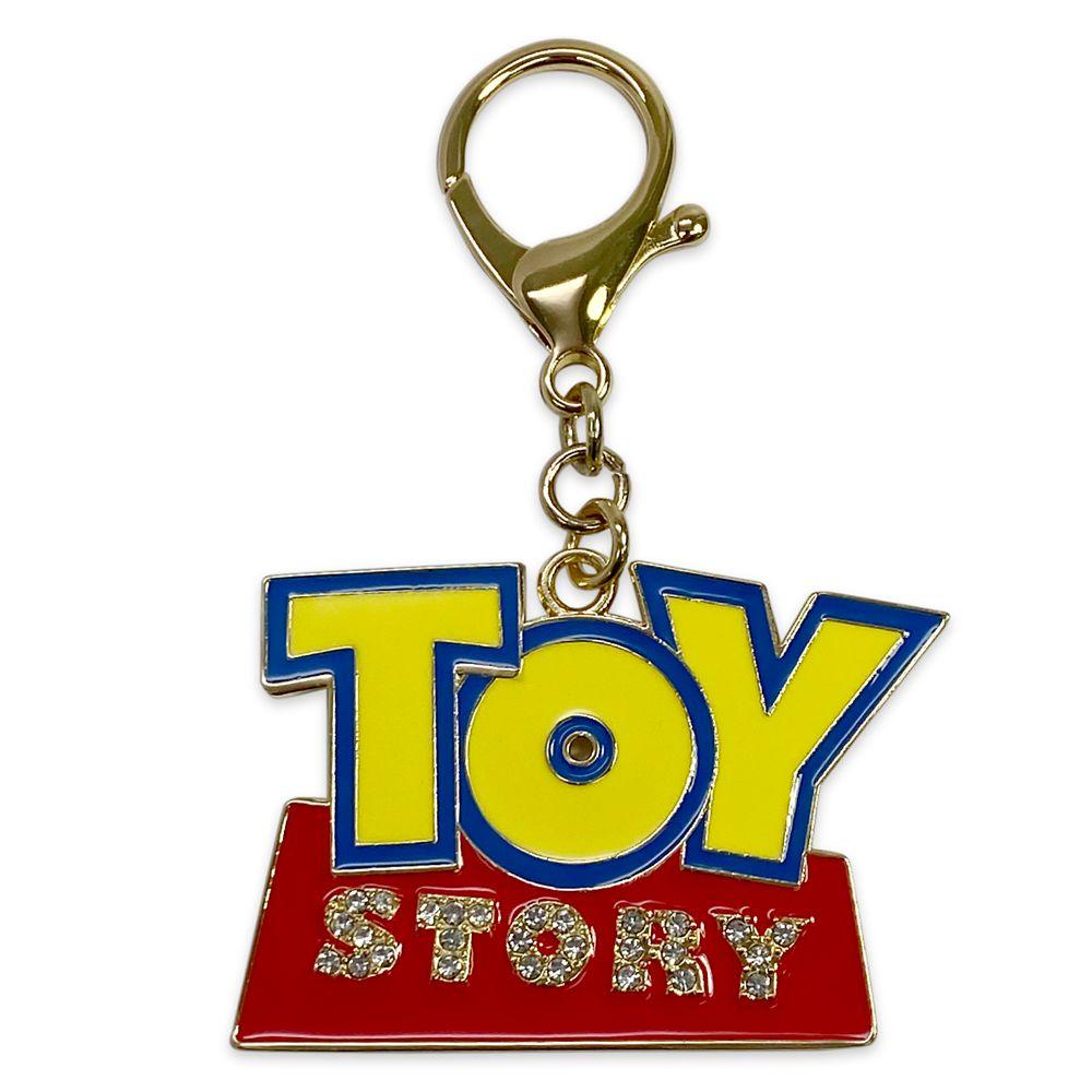 Toy Story Logo Flair Bag Charm