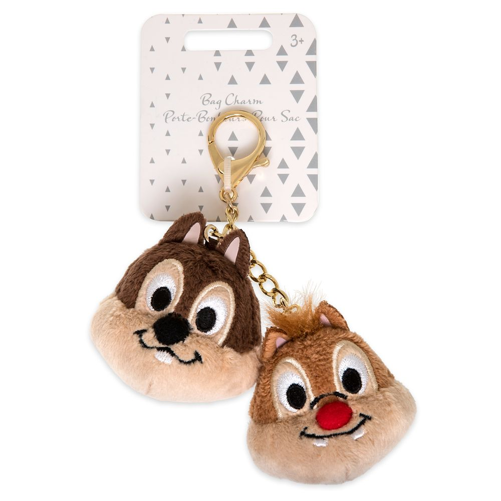 Chip 'n Dale Plush Bag Charm – Oh My Disney