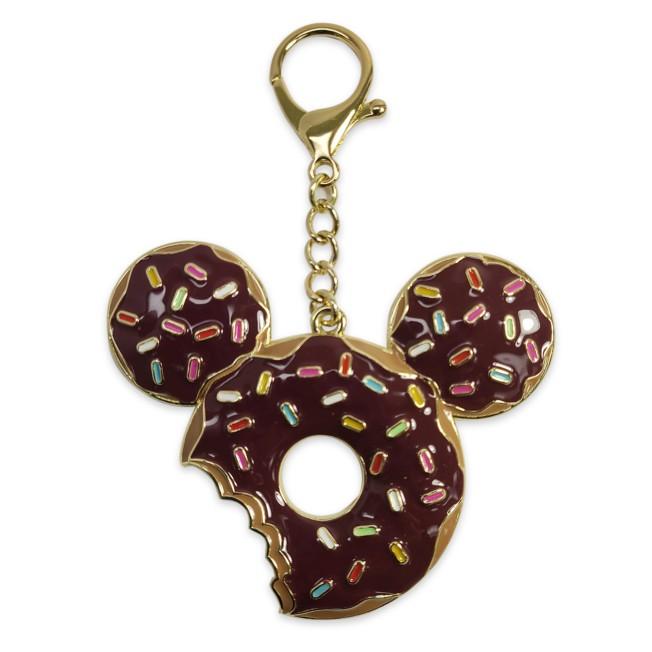 Mickey Mouse Donut Flair Bag Charm