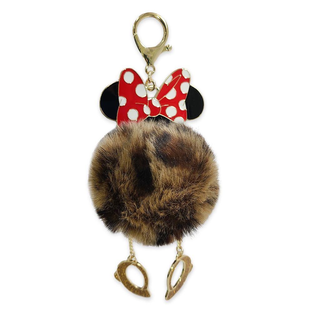 Minnie Mouse Pom Pom Flair Bag Charm Official shopDisney