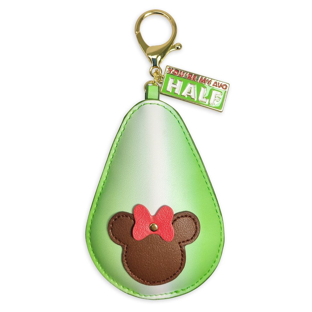 Mickey and Minnie Mouse Avocado Flair Bag Charm Official shopDisney