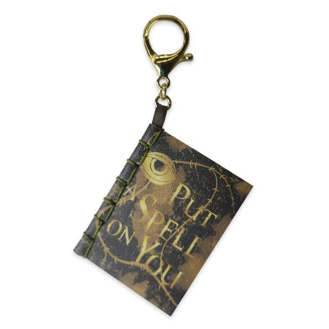 Hocus Pocus Spell Book Flair Bag Charm