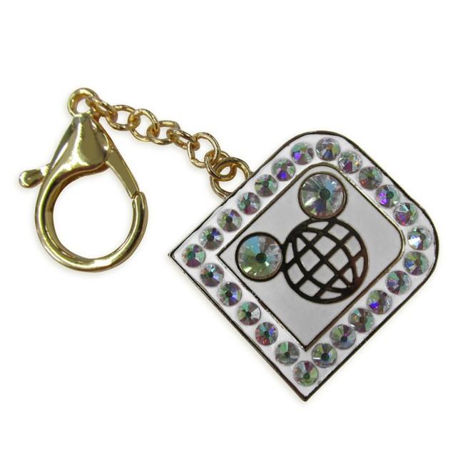 Walt Disney World ''D'' Icon Jeweled Bag Charm