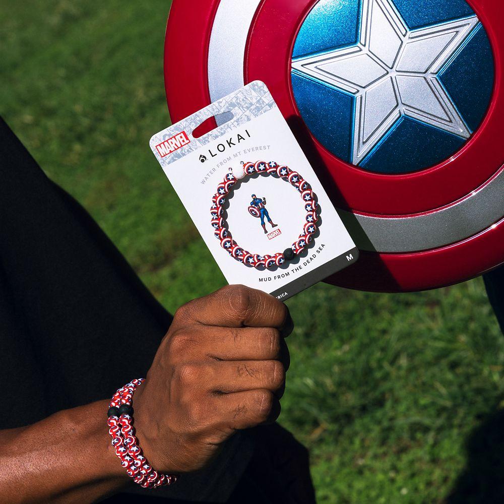 Captain America Bracelet by Lokai