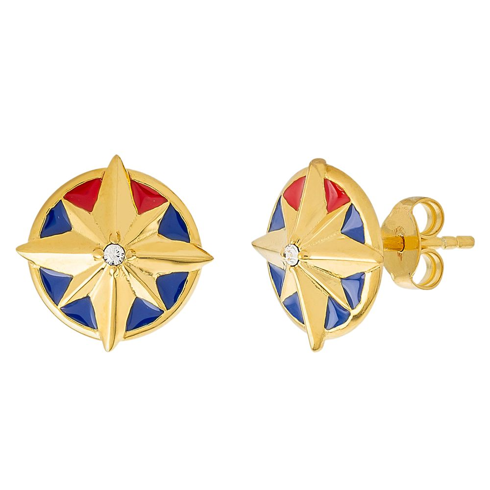 Captain Marvel Earrings by RockLove