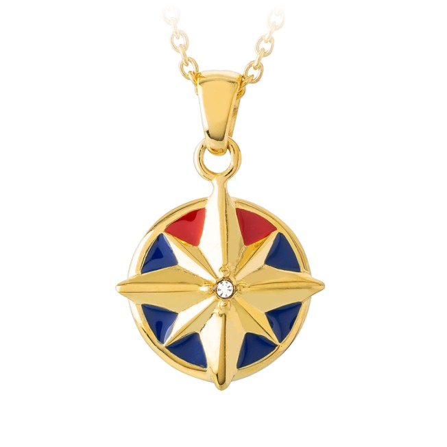 Captain Marvel Pendant Necklace by RockLove