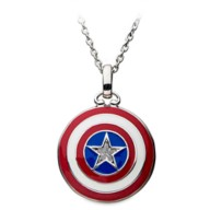 Captain America Shield Necklace by RockLove