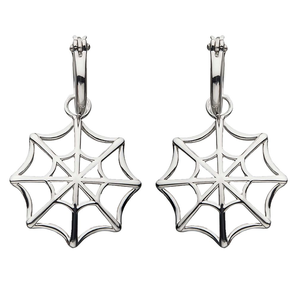 Spider-Man Web Earrings by RockLove