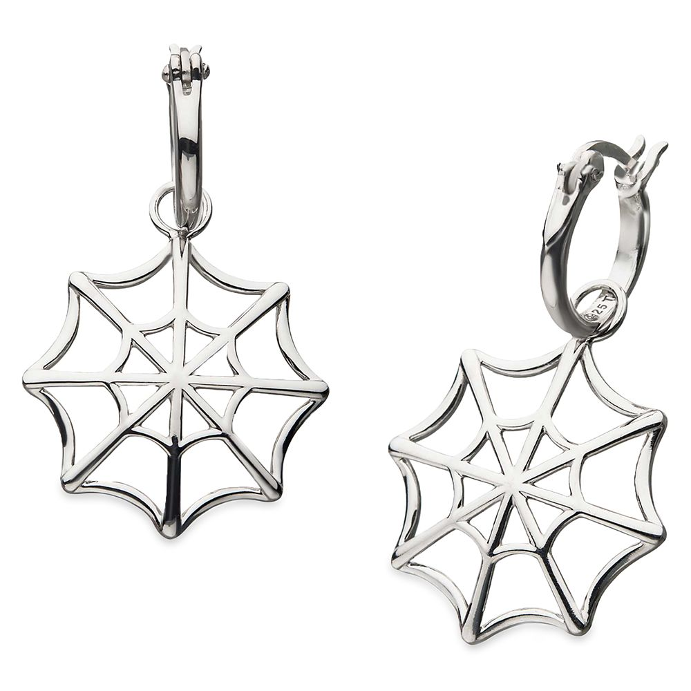 Spider-Man Web Earrings by RockLove