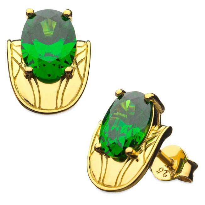 Loki Chestplate Stud Earrings by RockLove