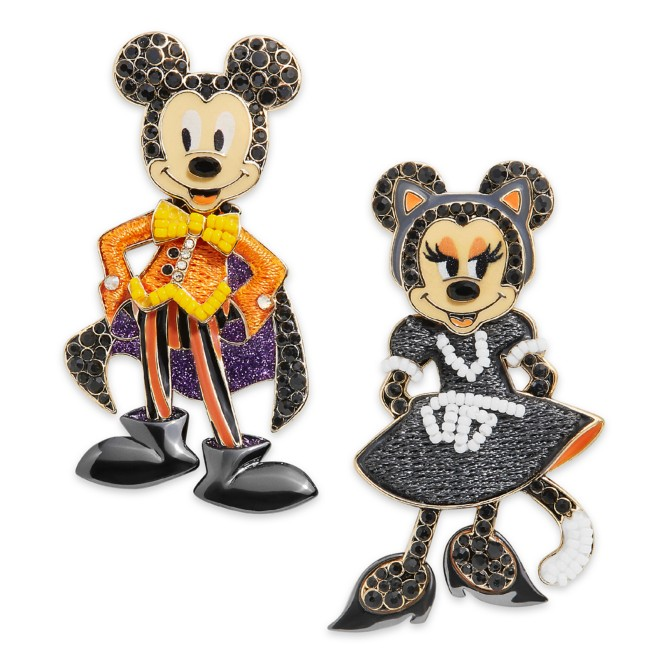 Mickey and Minnie Mouse Halloween Earrings by BaubleBar