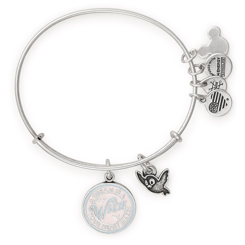 Cinderella ''A Dream Is a Wish Your Heart Makes'' Bangle by Alex and Ani