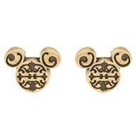 Mickey Mouse Icon Filigree Earrings by Alex and Ani