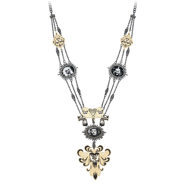 The Haunted Mansion Cameo Statement Necklace by Betsey Johnson