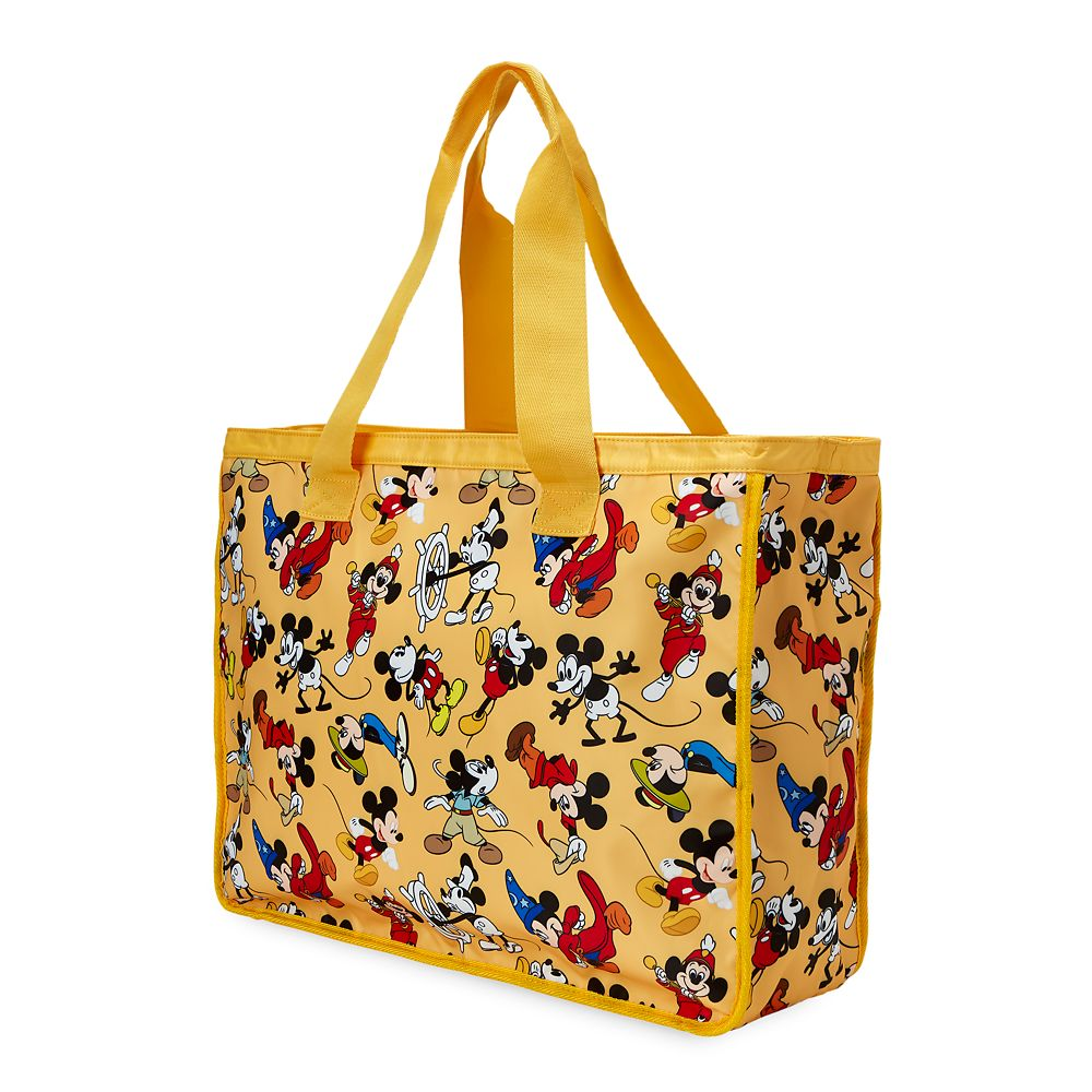 Mickey Mouse Through the Years Nylon Tote – Large