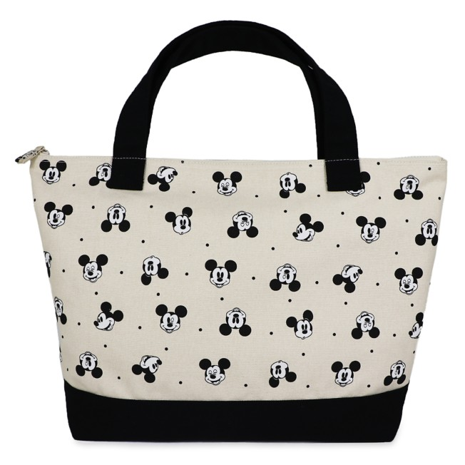 Mickey Mouse Cotton Canvas Tote Bag