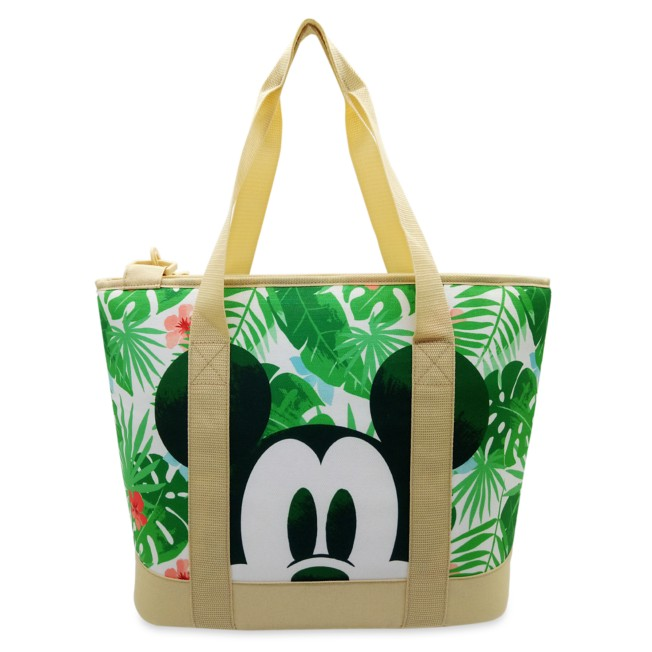 Mickey and Minnie Mouse Tropical Cooler Bag
