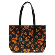 Mickey and Minnie Mouse Jack-o'-Lantern Halloween Tote