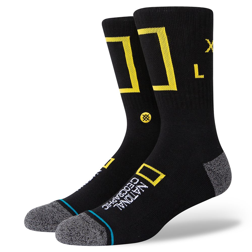 National Geographic Logo Socks for Adults by Stance