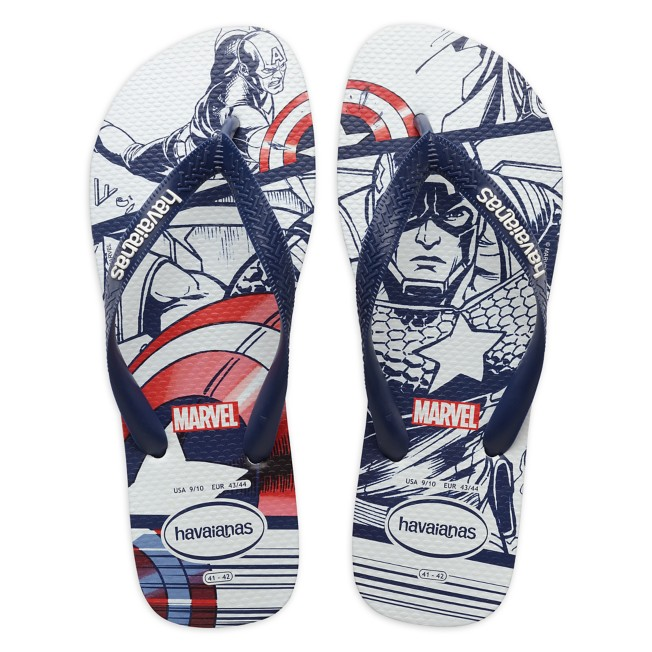 Captain America Flip Flops for Adults by Havaianas