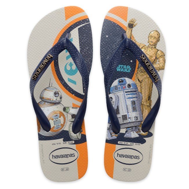 Star Wars Droids Flip Flops for Adults by Havaianas