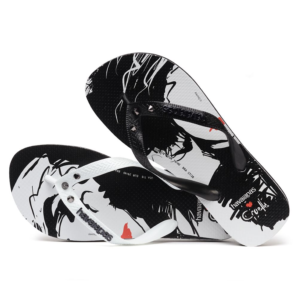 Cruella Flip Flops for Adults by Havaianas – Live Action