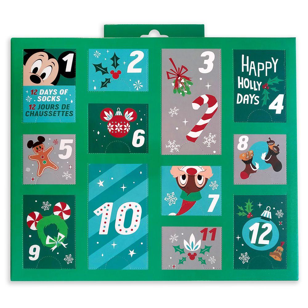 Holiday Advent Sock Calendar for Men