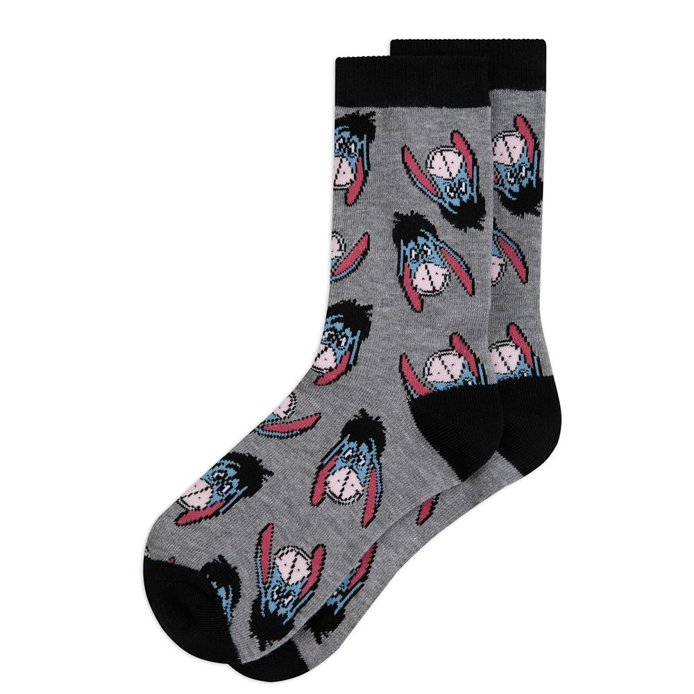 Eeyore Holiday Socks in Ornament for Adults