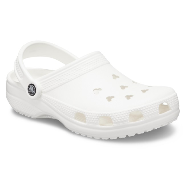 Mickey Mouse Clogs for Adults by Crocs – White