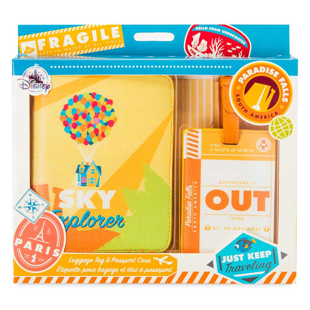 Up Luggage Tag & Passport Case – Oh My Disney